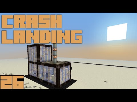 Minecraft Crash Landing - The Bunker [E26]