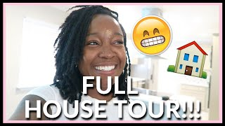 DECORATE WITH ME   Moving Back In + Full Empty House Tour!