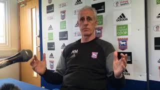 Ipswich Town boss Mick McCarthy on his and David McGoldrick's future