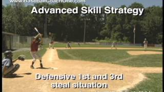 Baseball Tip 36-Advanced Skill Strategy 1st & 3rd Situation