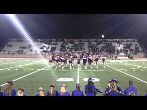 2014 Oroville and Las Plumas High School JV Bell Game Routines