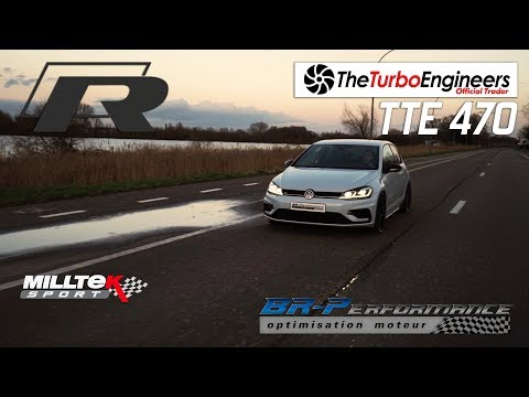 VW GOLF 7R Stage 3 Remap By BR-Performance