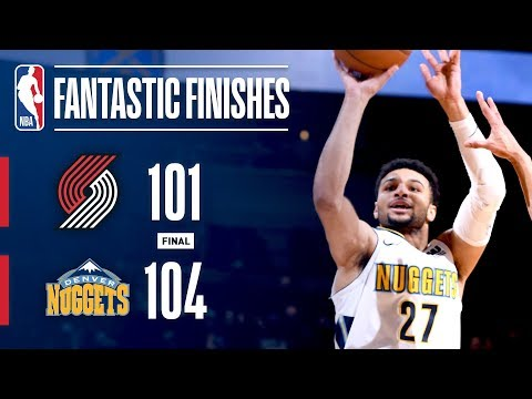The Blazers and Nuggets Go Down to the Wire in Denver  January 22, 2018