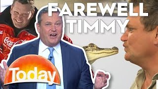 TODAY says farewell to Tim Gilbert | TODAY Show Australia