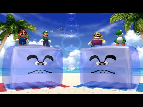 Mario Party 4 - All 2-vs-2 Minigames