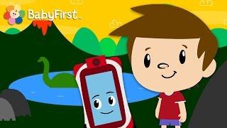 BabyFirstTV: Albert y Junior - Dinosaurios | Aprendizaje para niños |