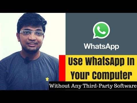 How to Use WhatsApp in Computer Without Installing Any Third-Party Software