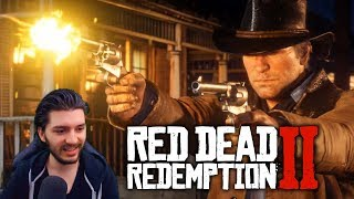 Red Dead Redemption 2 Official Trailer #2 Reaction!