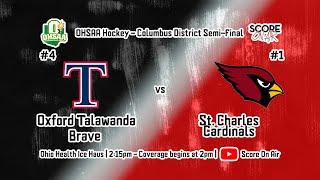 OHSAA District Semi-Finals: #4 Talawanda vs #1 St. Charles