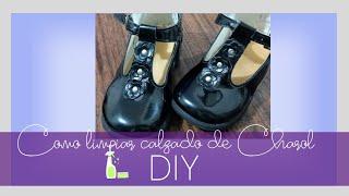 DIY Como limpiar Calzado de CharolMkup Maribella