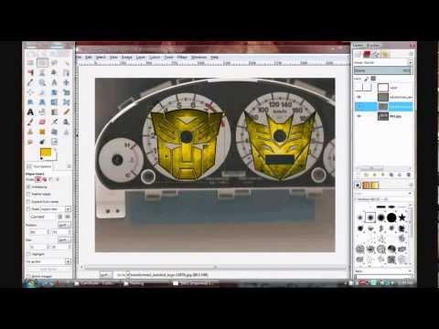 2003 Honda Civic Gauge Transformer Overlay DIY - Part 2