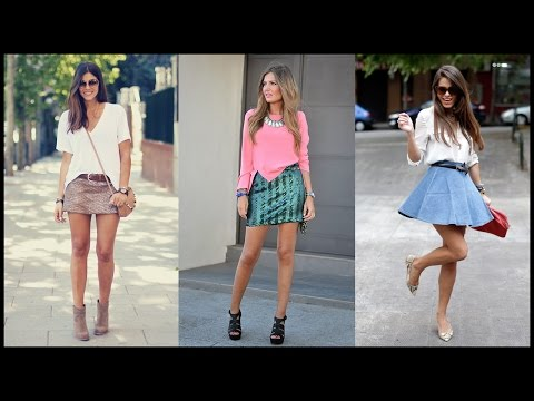 How To Wear Mini Skirts For Chic Summer