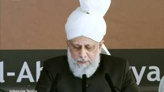 Indonesian Friday Sermon 16 Sep 2011, Strive for high quality God consciousness and purity