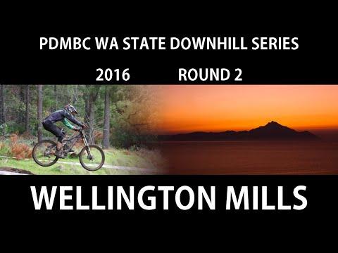 2016 WA State Series Downhill Wellington Mills Qualifying run