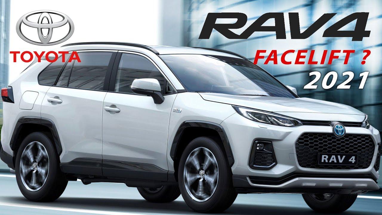 Toyota Rav4 2021 Facelift V Gen XA50 Rendered as 2022 ...