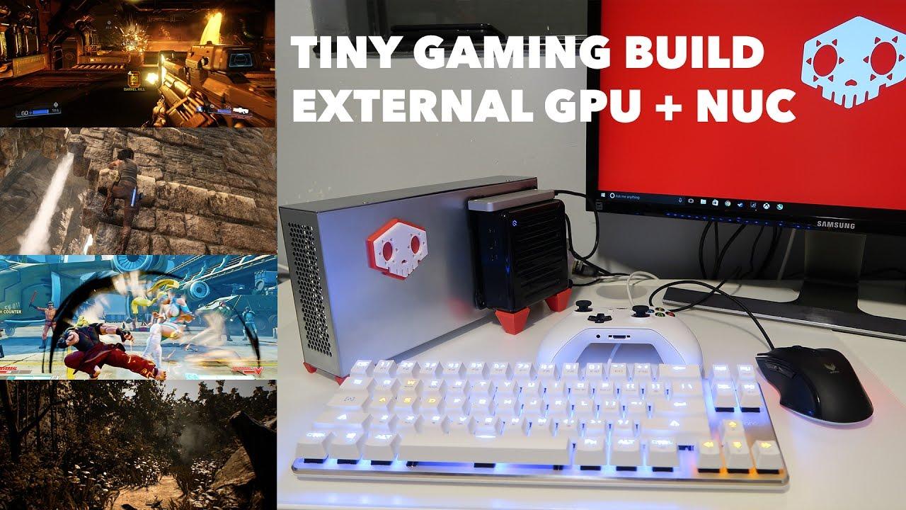 HΛD☰S B☰ΛST - Intel Hades Canyon NUC with EXP GDC Beast eGPU