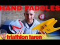 Don't Use Paddles for Triathlon Swim Training