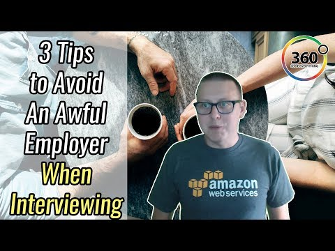 3 Tips to Avoid an Awful Employer When Interviewing |  Real Life Examples | Ask a Dev