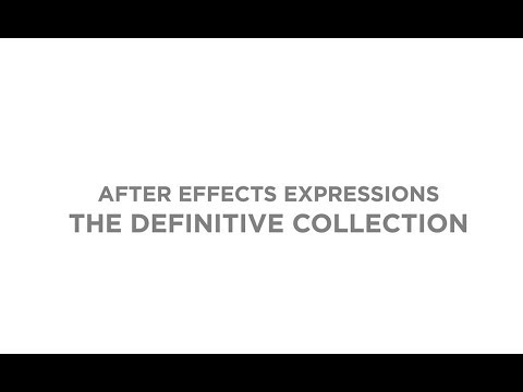 After effects expressions - The definitive collection