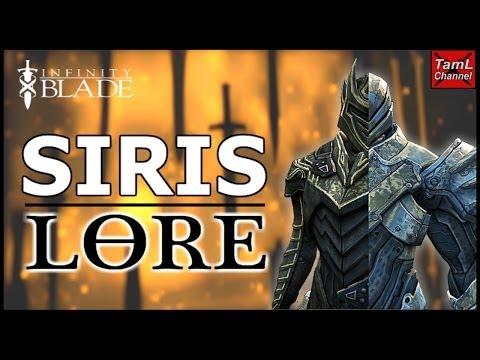 Infinity Blade: SIRIS LORE! (in under 5 mins)