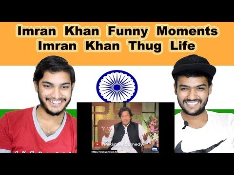 Indian reaction on Imran Khan Funny Moments | Swaggy d
