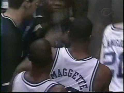 Duke Basketball Corey Maggette Crazy Dunk on Temple