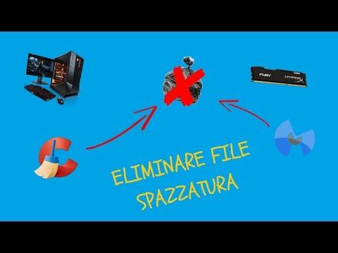Come Eliminare File Spazzatura Dal Vostro PC!