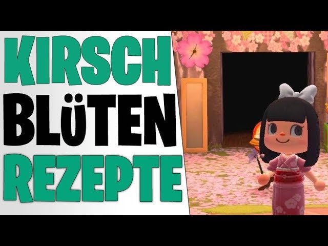 ALLE KIRSCHBLÜTEN REZEPTE - GEHEIME SAKURA MÖBEL | Animal Crossing New Horizons Tipps deutsch