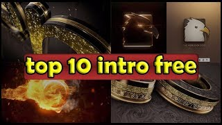 Top 10 intro logo Template Free After Effects Project Files