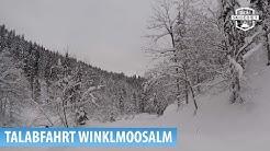 Skigebiet Winklmoosalm/Reit im Winkl: Talabfahrt zum Seegatterl