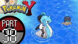 Pokemon X and Y - Part 38: Route 12 | Surfing With Lapras and Tyrunt Evolves!