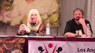 Celeste Yarnall at the 2016 Conscious Life Expo