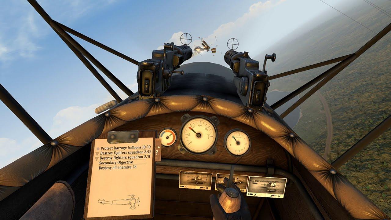 Warplanes: WW1 Fighters - Launch Trailer [PC VR] - YouTube