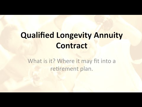 Qualified Longevity Annuity Contract or QLAC?