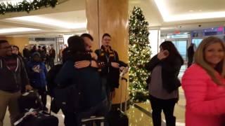 Marine surprises family for Christmas
