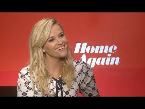 NEW Reese Witherspoon interview for HOME AGAIN