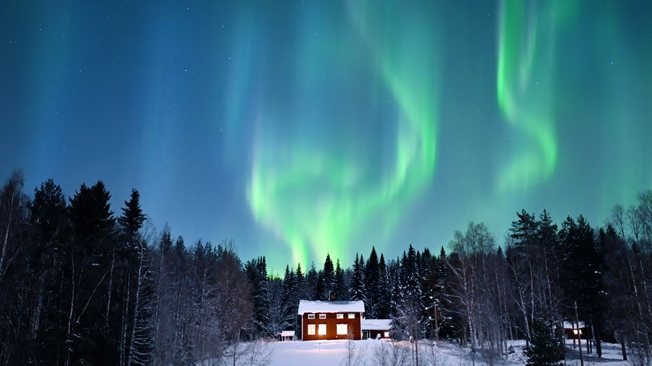 Download Everyday life in the house under the northern lights   Ep. 38