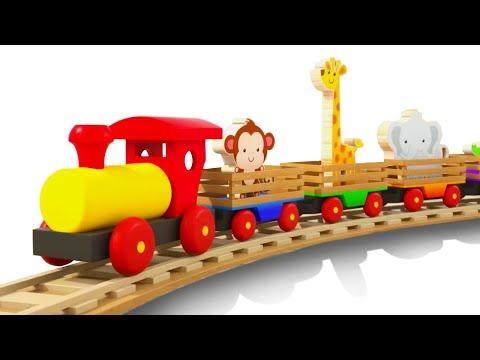 Мультик для малышей - Учим названия Животных | Тино - Игрушки для Детей