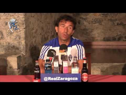 Luis Milla en rueda de prensa - 25/7/2016