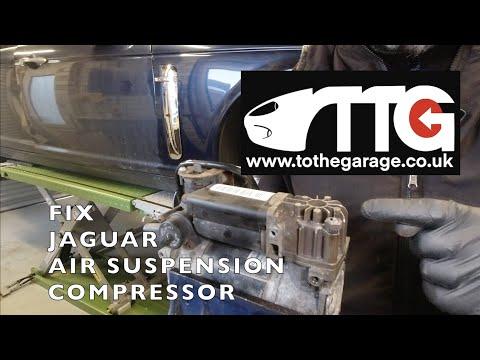 How to fix your Jaguar Air suspension fault. BLU 14