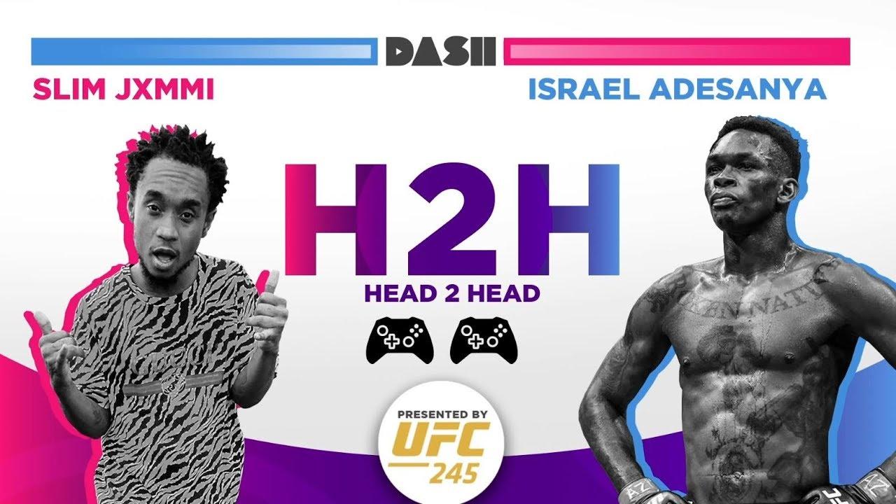 Israel Adesanya and Slim Jxmmi talk gaming and UFC 245