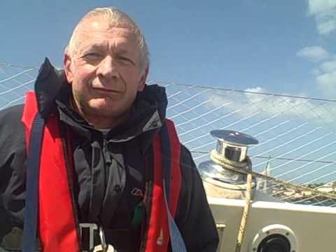 Start of Carey Olsen Yacht Race 2012