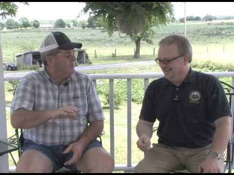 WV Dept. of Agriculture visits Gruber Farms