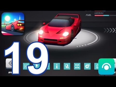 Horizon Chase - Gameplay Walkthrough Part 19 - All Cars & Upgrades Unlocked (iOS)
