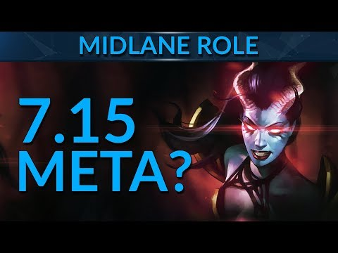MIDLANE META in Patch 7.15 | Dota 2 Guide
