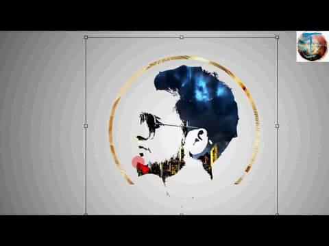 Tremendous Photoshop effect -Design face logo step by step process using Photoshop