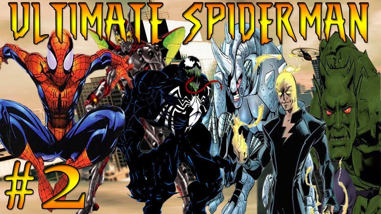 Let's Play Ultimate Spiderman Part 2 VENOM Vs WOLVERINE ...