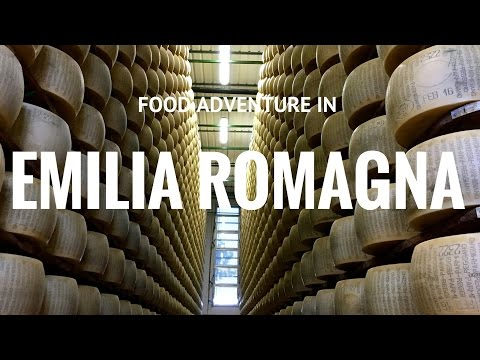Food adventure in Emilia Romagna, Italy