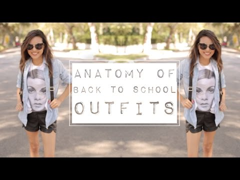 Anatomy of Back To School Outfits (outfit breakdown), #Backtoschool
