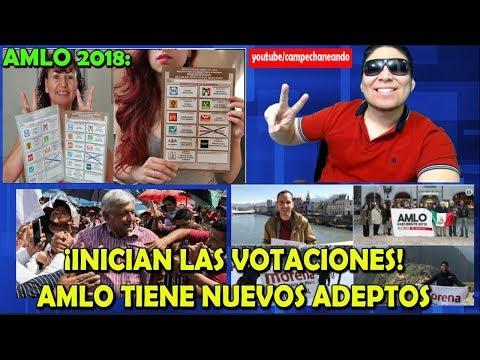 ¡Mexicanos en USA empiezan a votar por López Obrador! - Campechaneando